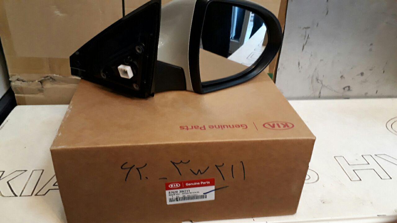 آینه بغل کیا اسپورتج راست اصلی فابریک جینیون پارت- ۸۷۶۲۰۲w211