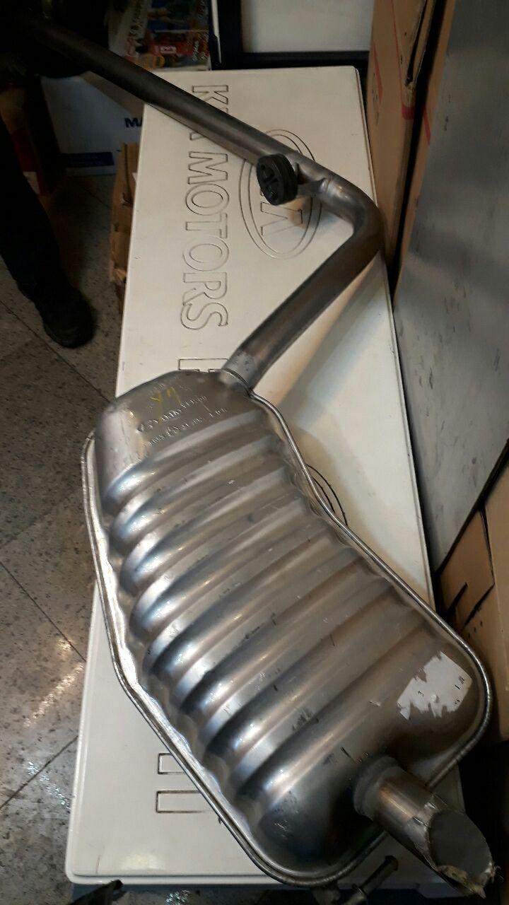 منبع اگزوز هیوندایی قسمت عقب سوناتا مدل ۲۰۱۱ الی ۲۰۱۴  مدل ۲۸۷۱۰۳S130  YF