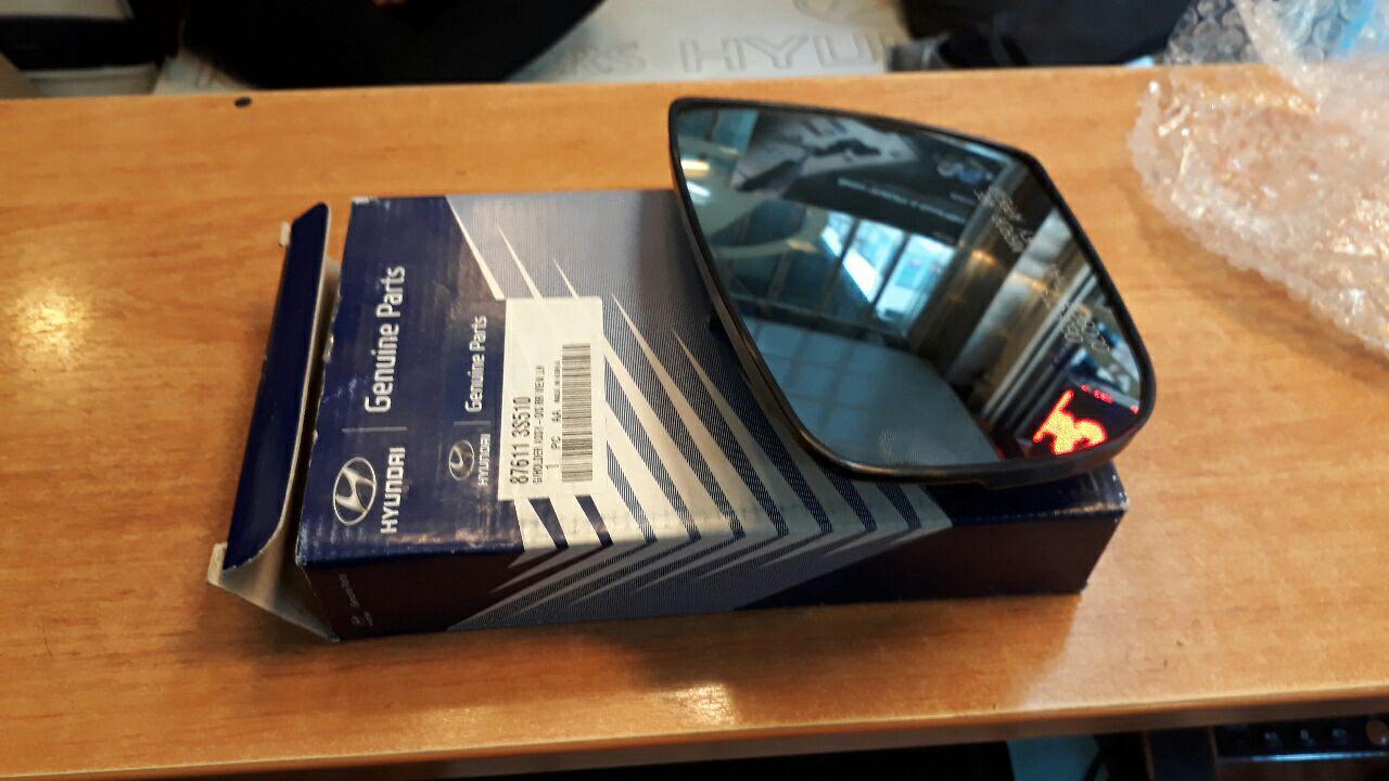 شیشه آینه بغل هیوندایی سوناتا YF مدل ۲۰۱۱ به بعد اصلی فابریک جینیون پارت-۸۷۶۱۱۳S510