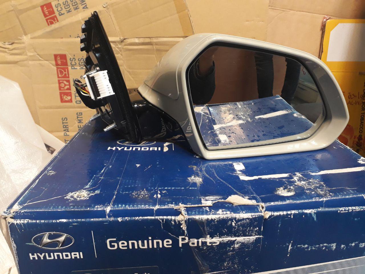 آینه راست هیوندایی سوناتا LF مدل ۲۰۱۵ اصلی فابریک جینیون پارت-۸۷۶۲۰C1280