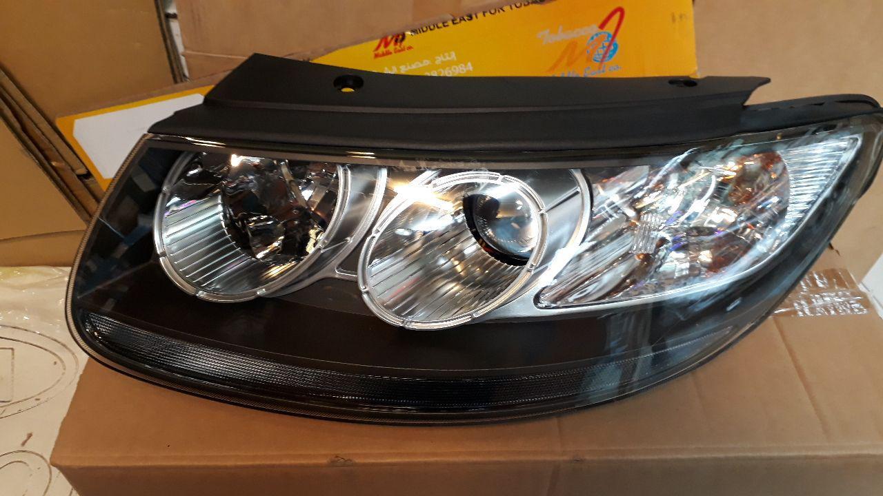 چراغ جلو سانتافه مدل ۲۰۰۷ به بالا موتور ۹۲۱۰۱۲B021   2700cc