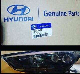 چراغ چپ هیوندایی توسان مدل ۲۰۱۷ تیپ TL اصلی فابریک جینیون پارت ۹۲۱۰۱ D3320