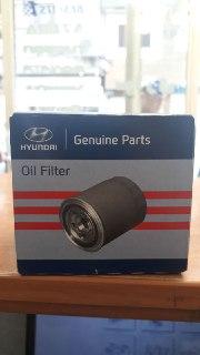 فیلتر روغن هیوندایی و کیا برای موتورهای ۲۴۰۰cc اصلی فابریک جینیون پارت ۲۶۳۰۰ ۳۵۵۰۴