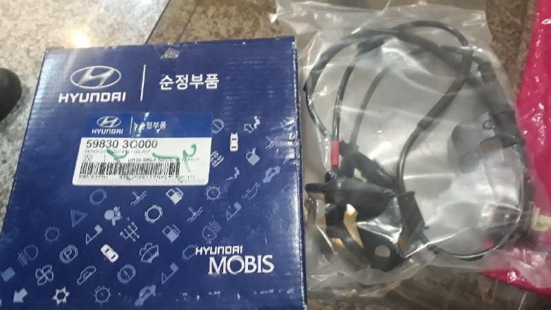 سنسور ABS چرخ جلو راست هیوندایی سوناتا اصلی فابریک موبیز  ۵۹۸۳۰ ۳Q000