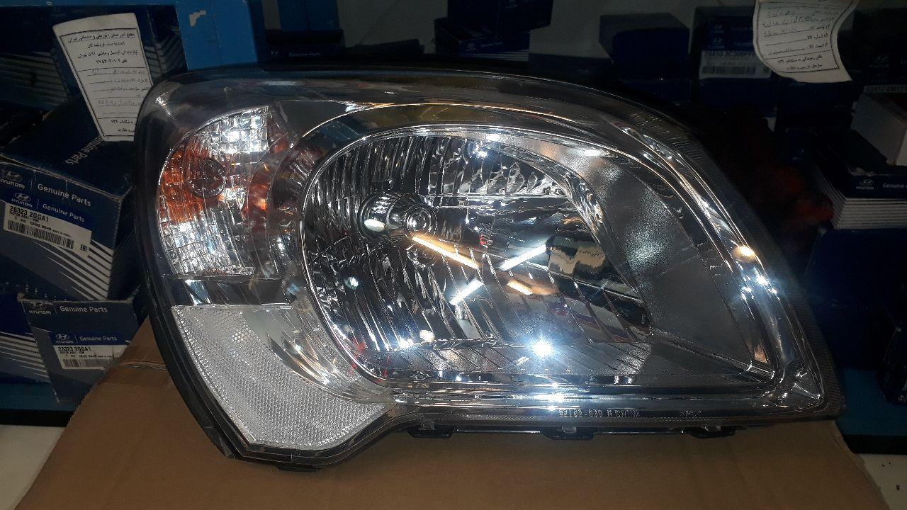 چراغ جلو راست کیا اسپورتج مدل ۲۰۱۰ موتور دار چینی درجه ۱  ۹۲۱۰۲ ۱F510