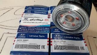 فیلتر روغن موتورهای GDI اصلی فابریک جیینون پارت ۴ سیلندری ۲۶۳۰۰ ۳۵۵۳۱