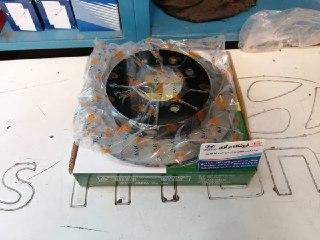 دیسک چرخ عقب اونته کره ای برند kgc فابریک