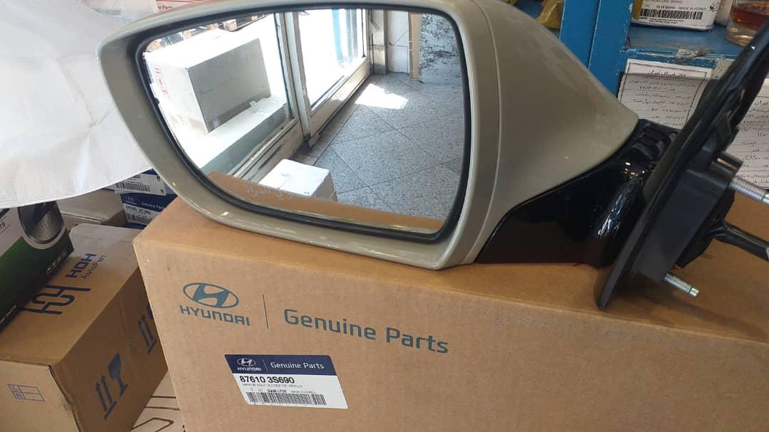 آیینه چپ هیوندای سوناتا YF 2014 اصلی جنیون پارت ۸۷۶۱۰ ۳S690