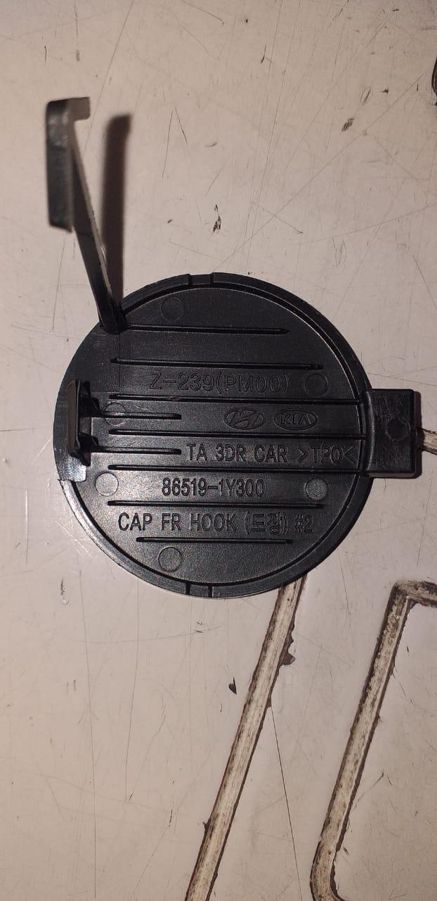 درپوش بکسل بند جلو کیا پیکانتو اصلی جنیون پارت ۸۶۵۱۹ ۱Y300